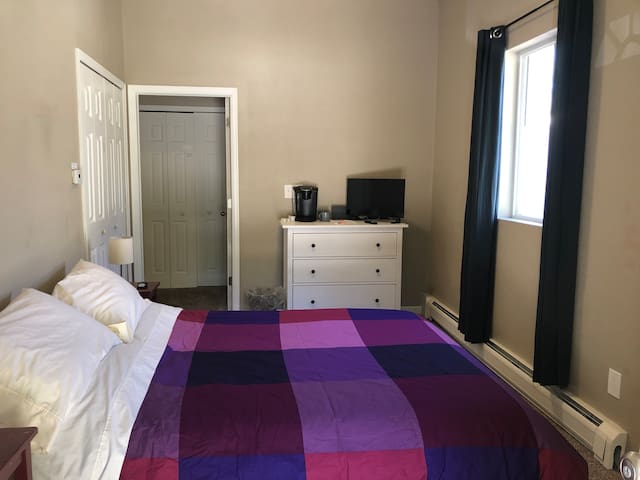 Private room in central Denver neighborhood