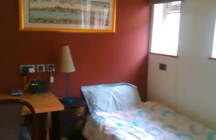 Two single rooms in a stylish home - Wembley - Talo