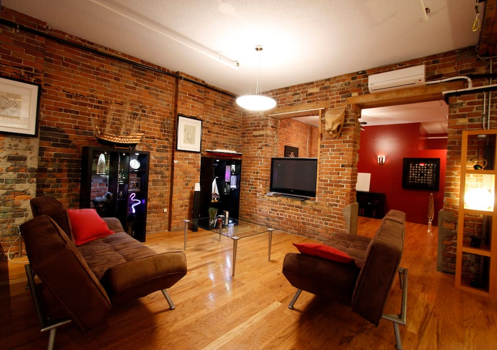 5bdr large loft in old montreal appartements louer - Appartement a louer vieux port montreal ...
