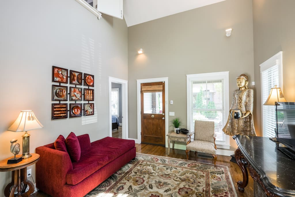 Adorable downtown 2 bd 2b house with superhost maisons - Maison rustique adorable tennessee nov ...