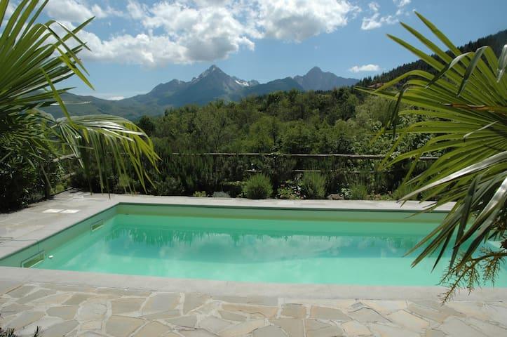 Tuscan villa with private pool - Reusa, Casola in Lunigiana
