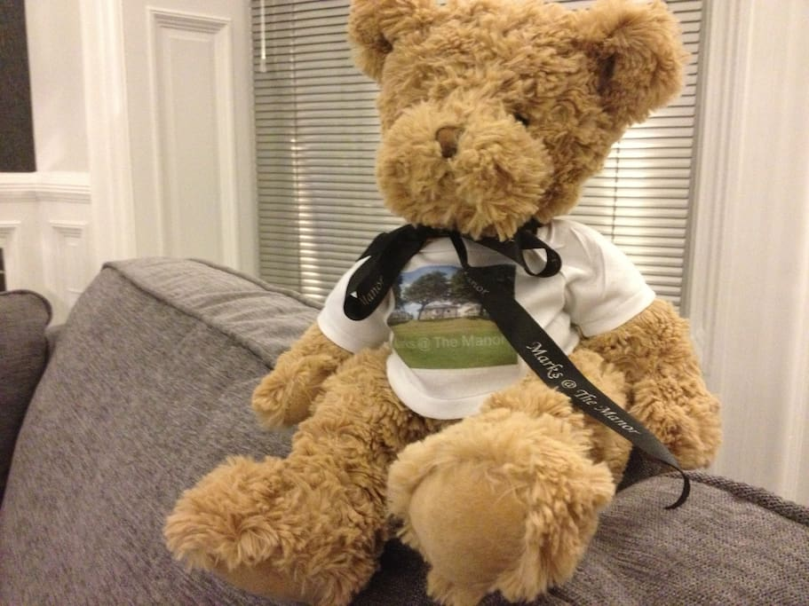 Hi I am Spencer Bear ! I'd love you to come and stay with me at Marks @ The Manor - you'll love it here it has everything you need all from M & S too !! see you soon I hope.