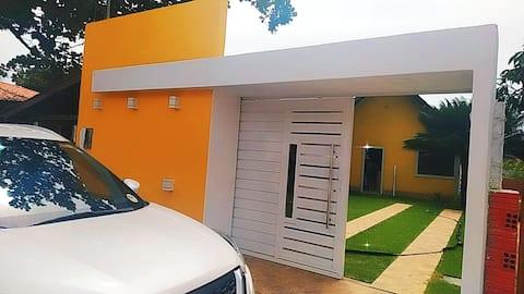Chalé da Dona Branca casa de veraneio em condomínio fechado com segurança e tranquilidade