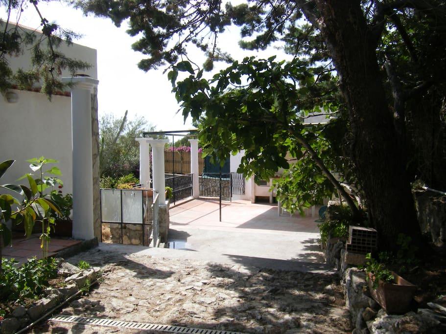 ingresso e terrazzo