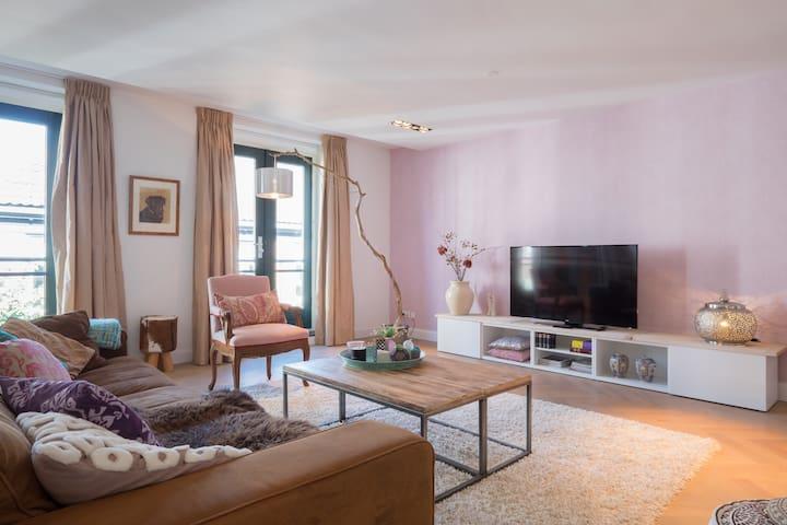 Luxerous trendy apartment in centre of Wassenaar
