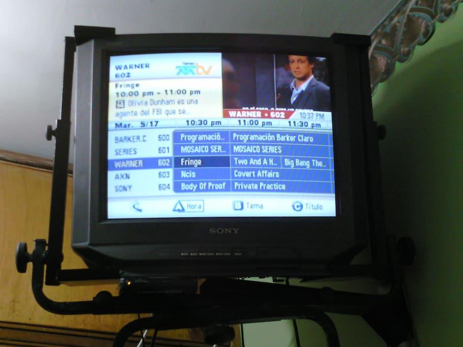 Tv con guía de Programcion