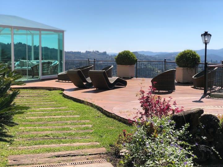 Best view of Morro do Elefante /5min centre