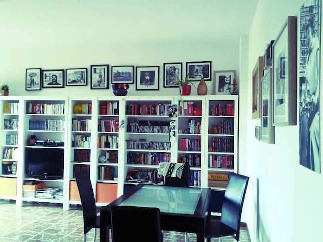 Accogliente sala con divano letto - Modena - Byt