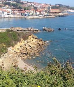Ideal habitac cerca del mar  y ocio - Luanco - Дом