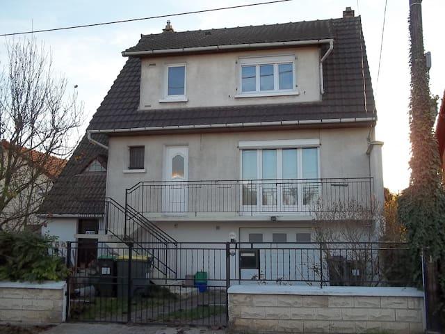 Chambre dans belle maison sud de Paris - Morsang-sur-Orge - Hus
