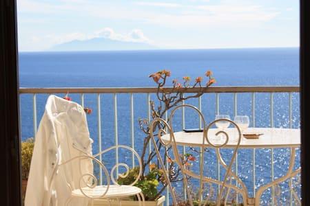 Appart terrasse magnifique vue mer - San-Martino-di-Lota
