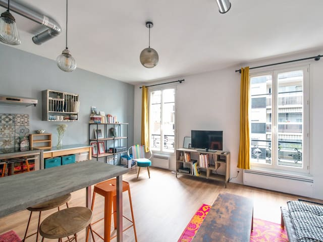 Magnificent 1br in the heart of Paris – W494