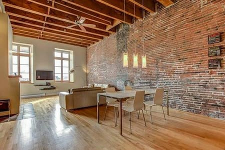 Beautiful Loft in Old Port Montreal