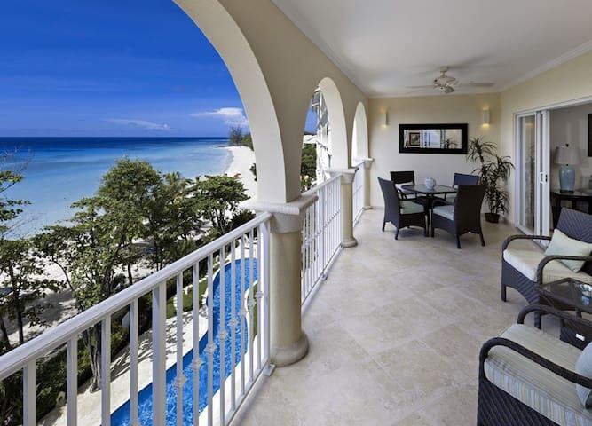 Beachfront Barbados -Sapphire Beach