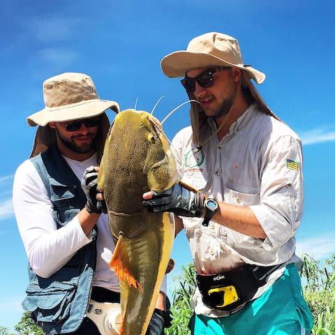 Casa de pesca em Luíz Alves - GO