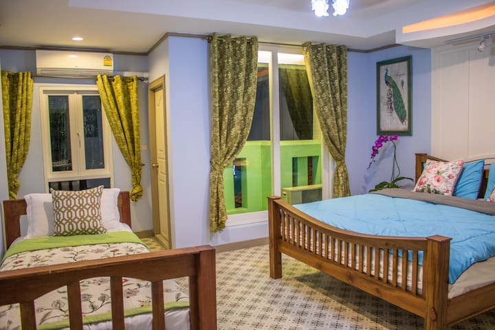 Dream Garden Villa(Double Bedroom Family Room-11)