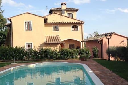 Vista sulla piscina - Palaia - Apartamento