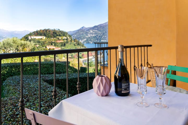 If I may suggest to you, the first thing to do when in Bellagio is ...a toast! To you, to your decision to travel to Italy and visit this gem! I will be more than happy to make you happy!