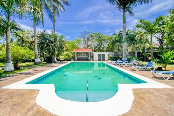 Inviting oceanfront villa w/ shared pool, gardens & beach access!