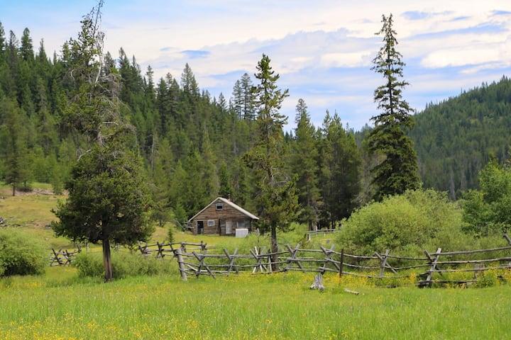 Off-Grid Montana Cabin