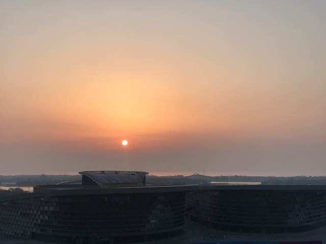 万平口/东夷小镇/日照植物园可看日出海景房  疫情期间全面消毒。2019年装修