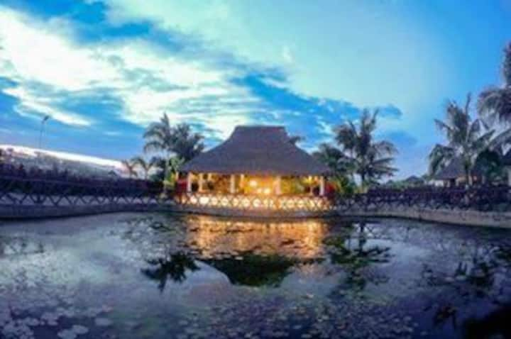 2 Cottages/Rooms in Los Banos Hot Spring Resort