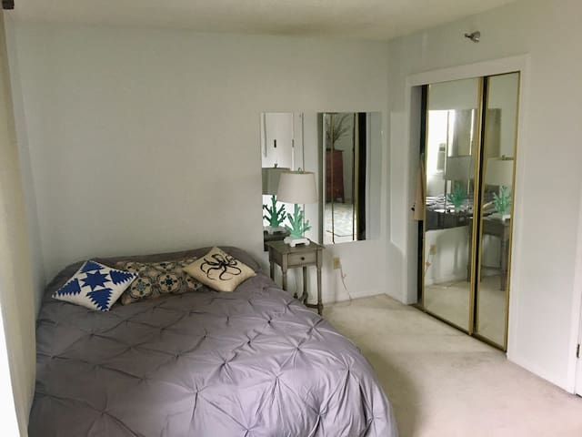 Downtown! One bedroom with private bath!