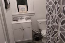 Upstairs Bathroom off Master Bedroom