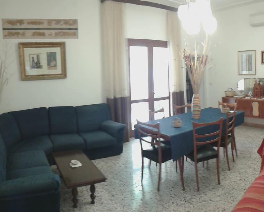 sala a disposizione degli ospiti