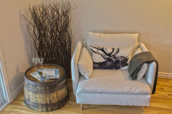 Relax and Read in this Comfy Chair