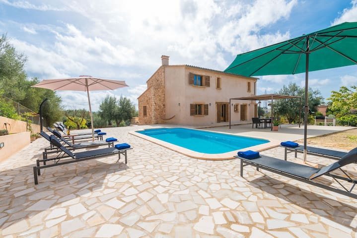Barbella - lovely villa with private pool - Manacor - Ev