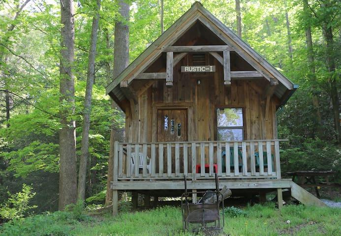 Rustic I Mountain & River Cabin