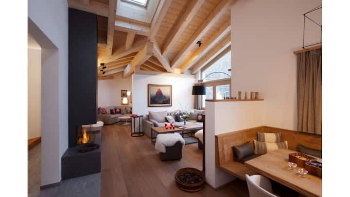 Luxury chalet with private spa