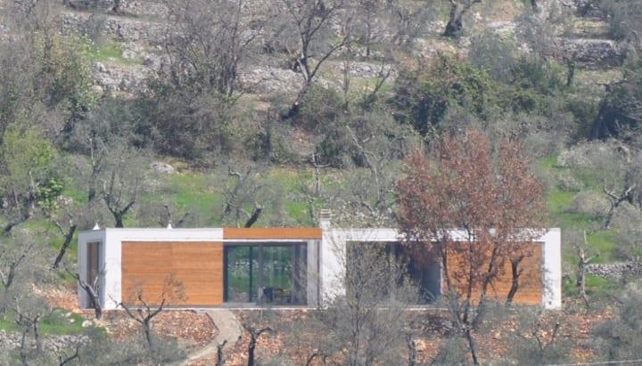 Villa tra gli ulivi a Sonnino