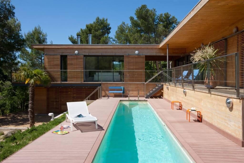 vaison l r demeure de charme 6 pers villas louer saint marcellin l s vaison provence. Black Bedroom Furniture Sets. Home Design Ideas