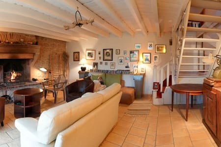 Gîte pleine campagne avec cheminée - La Chapelle-sous-Uchon