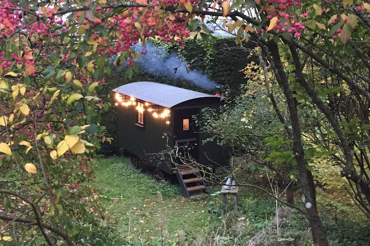 Stunning Cotswold Shepherds Hut BnB in secret spot