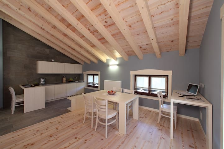Modern House in an ancient village - Rivo - Apartamento