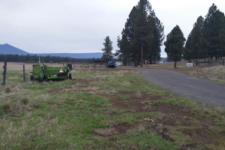 House on Ranch, w/ horse pasture - Chiloquin