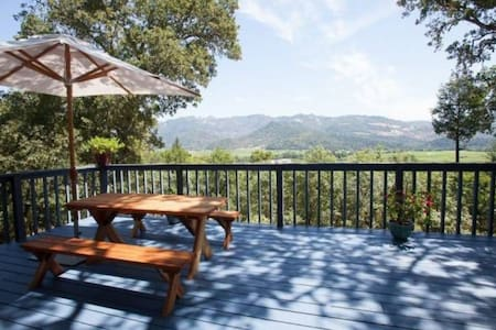 Private cottage with amazing views - Calistoga