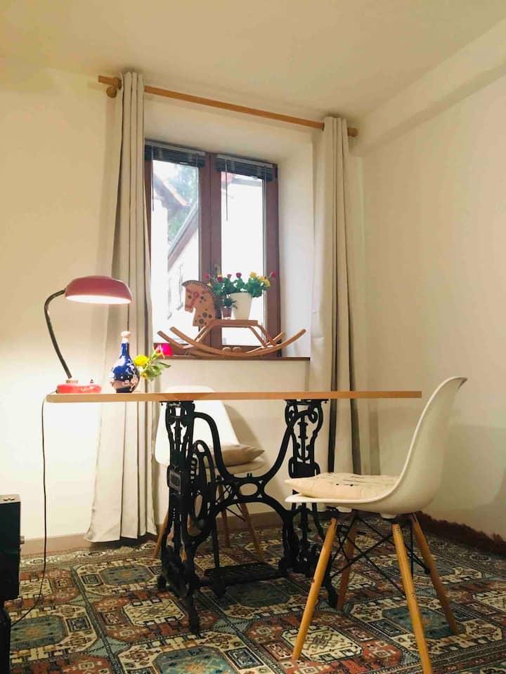 Au calme, à Wissembourg, un logement paisible.