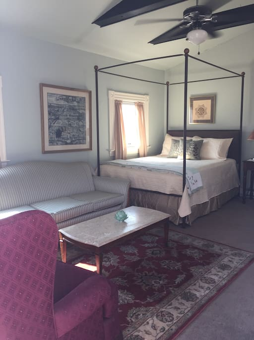 View of suite inside from entrance