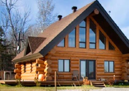 Chalet Scandinave à louer - Lac Kénogami - Skidoo