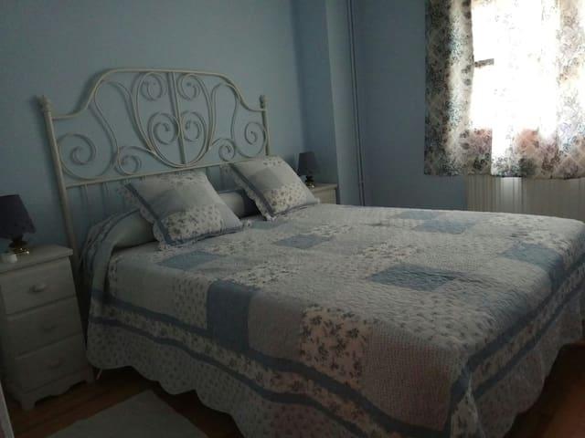 Dormitorio principal. Primera planta