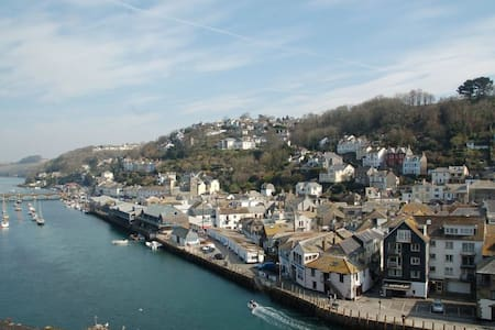 Spectacular Harbour & Coast View Looe - Looe