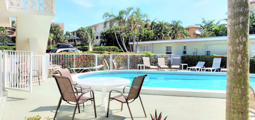 Bungalow-feeling in up-and-coming Pompano Beach!