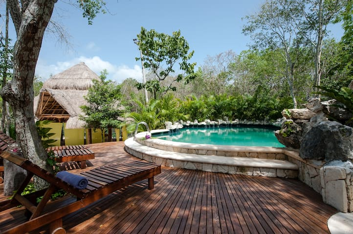 Beautiful Villa in Jungle Hideaway - Chemuyil - House