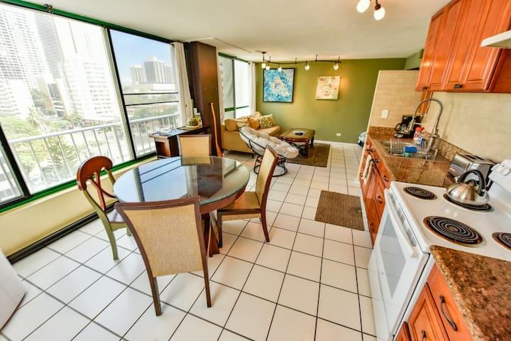 Waikiki Monthly Condo | Minimum 30 day rental