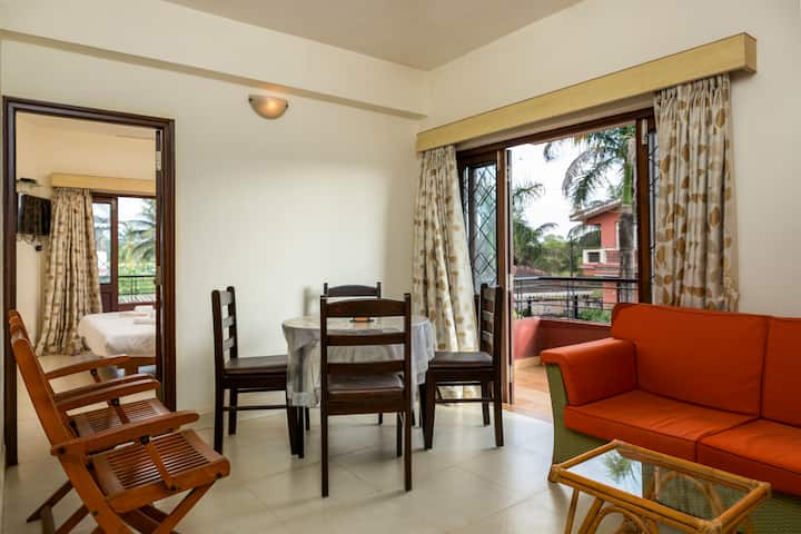 Lake View Studio Apartment Near Candolim