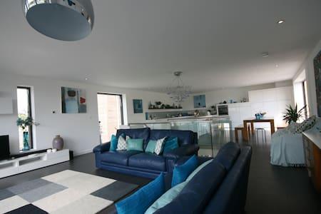 Fabulous contemporary coastal house - Challaborough - Huis